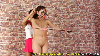 Special Exercises-Elena trains 30 y.o. Slina