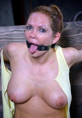 Gorgeous slave in BDSM