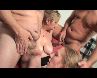 Hot family orgy session