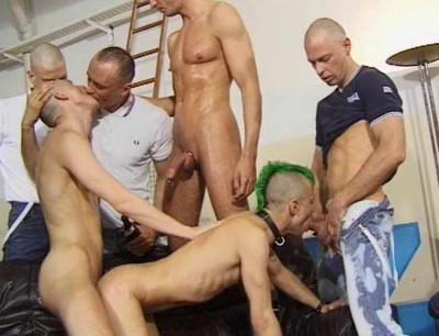 Rough Skins Gangbang