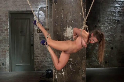 Hard S M Lesbian Couples Blonde Rope Slave Vol. 01