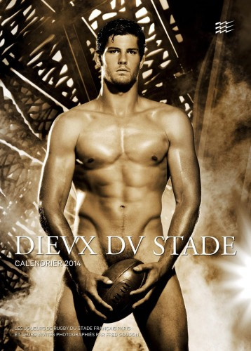 Dieux du Stade 2014: Making of the Calendar