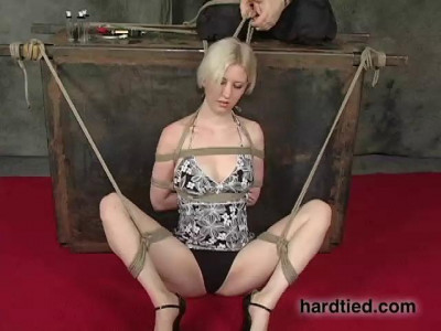 Cherry Torn Likes Humiliating Dirty Things Happening To Her, So We Tied Her Up