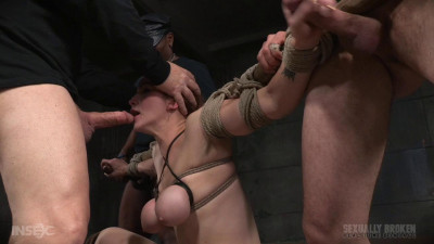 Tited Tits And Strict Challenging Bondage