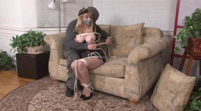 Bound and Gagged – Hostage in Uniform – Grabbed Gagged Bound and Groped – Lorelei