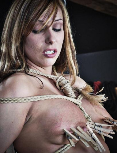 Tortured Sasha Sparks slutmeat in Hell