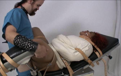 Medical Table Bondage Orgasm Therapy Part 2