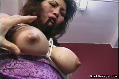 Bound Asian Beauty Sexy Slave Rosie
