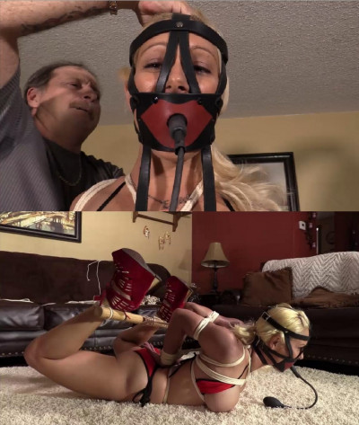 Hard Bondage And Hogtie For Very Beautiful Model