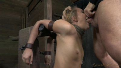AJ Applegate Shackled And Blindfolded, Facefucked Mar 31, 2014