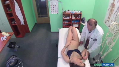 Spanish Patient Gets Creampied