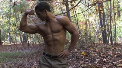 Pumpingmuscle — Bodybuilder Andre B Photo Shoot part 2