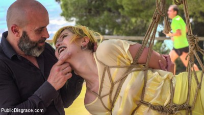 Beautiful Spanish Slut Gets Disgraced Like a Pig! — Part 1