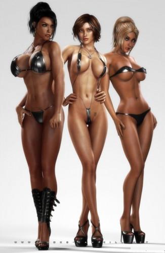 3D Beauties