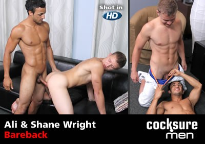 Ali and Shane Wright Bareback - gay personal web sites.