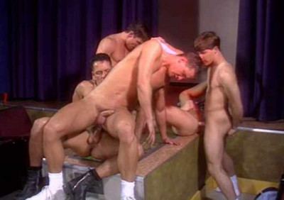 Private gangbang at backroom (stud, made, private)
