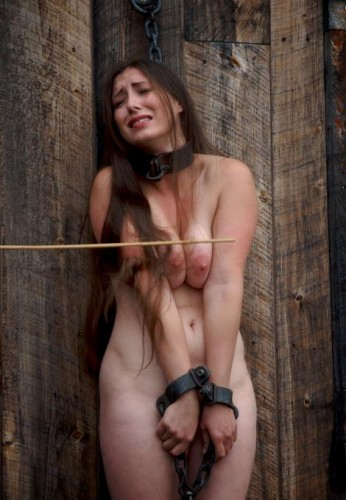 Virginal beauty in hard BDSM