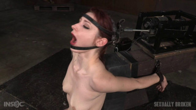 Violet Monroe Drooling Deepthroat Cocks Firmly Bound In Blowjob Machine (2016)