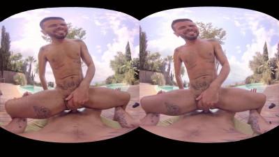 VirtualRealGay VR180 - Sea Views (Mario Domenech; Antonio Miracle POV)