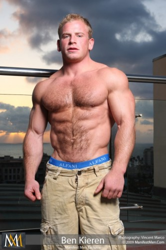Bodybuilder Ben Kieren