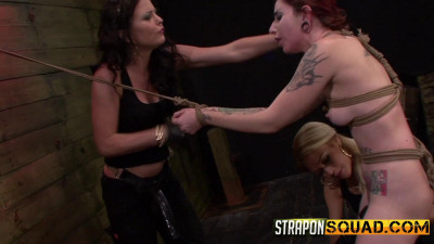 StraponSquad – Dec 05, 2014 – Sheena Rose Endures More Lesbian Domination