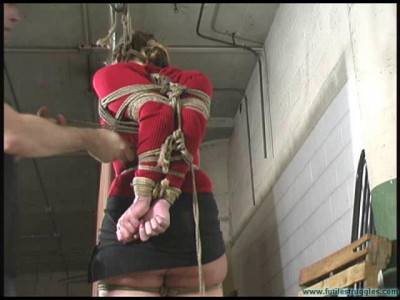 Session 1 - Blue's TIGHT Hogtie — Part 1