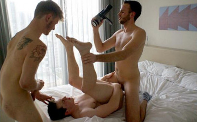 BRace - A hot 3 way between mates Damien, Sarpa and Zac