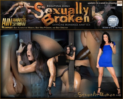 Stunning India Summer belted down to a post and bred, 10 inch and creampies!