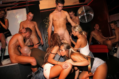Disco Party Becomes Mega Bisexual Sex Party (2011)