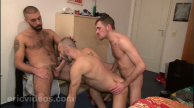 Rocco XXL And Olivier Load A Whore Together
