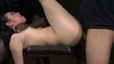 Bound And Brutally Deepthroated By 10 Inch BBC & Hardcore Fucking