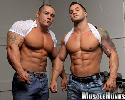 "Baker & El Potro - ""Muscle Grapplers"""