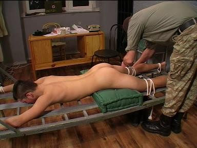 I love to see gay twinks in bondage used like this