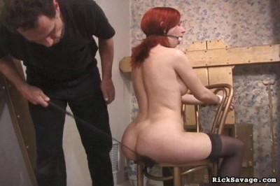 Bound Angel Jessica In Home BDSM Action