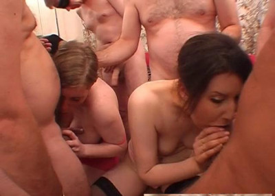 Lady Tiffany With Friend Take Cumshots (2013)