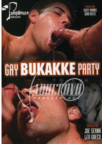 Gay Bukkake Party
