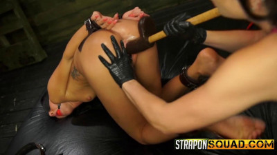 Sabrina Banks Loves Lesbian Domination & BDSM Fun With Brooklyn Daniels