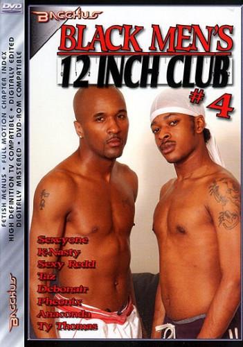 Black Men's 12 Inch Club 4