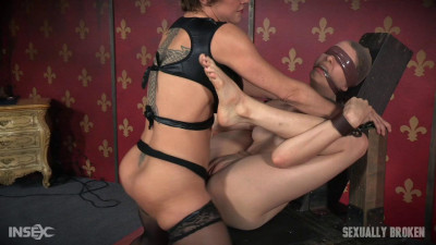 Bendy Zoey Laine fucked massive squirting orgasms! Bound, Gagged Helpless! Part One (2016)