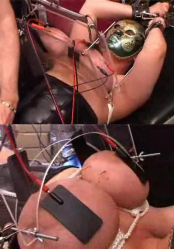 Electrical torture for boobs
