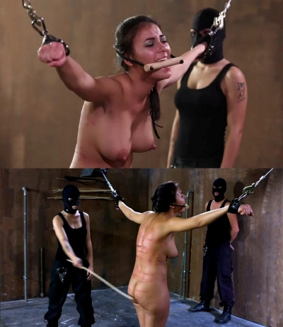 Hard torture, bondage and spanking for beautiful young bitch