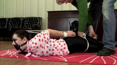 Belle Davis  – Hogtied, Frogtie, And Ballgagged