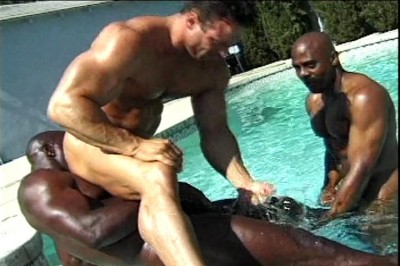 [Pacific Sun Entertainment] Three Hung Black Studs Suck Dickhead And Fuck Eachother