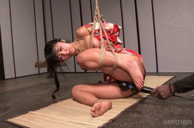 Asian bondage and submission