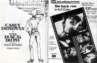 Bijou Classics – The Back Row (1973)
