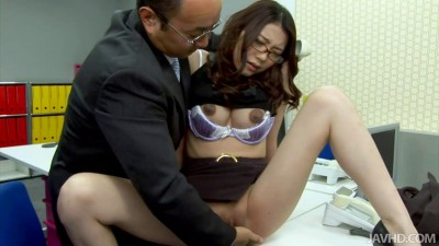 Ibuki Bends Over For An Ass Fucking At Work — Blowjobs, Toys, Uncensored Full HD 1920p