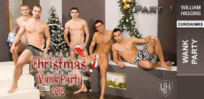WHiggins - Christmas Wank Party 2012, Part 1 - Wank Party - 19-12-2012