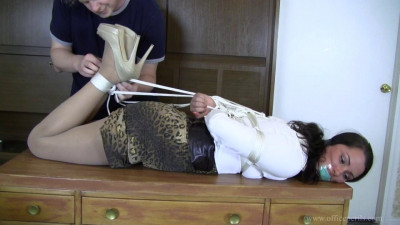 Belle Davis: Reprimanded with Rope