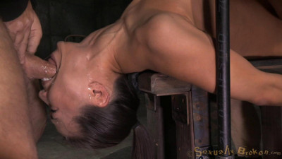 Unbreakable Kalina Ryu Restrained Roughly Fucked Messy Drooling Deepthroat (2015)