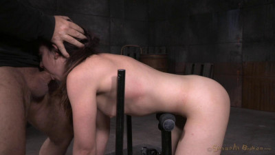 SexuallyBroken – May 29, 2015 – Girl Next Door Amy Faye Bent Over And Bound Doggystyle